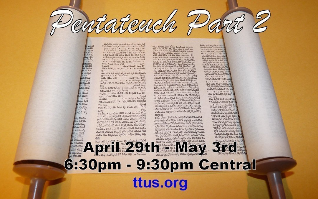 Pentateuch Part 2: New Live Streaming Course