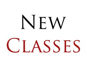 New classes are being added.