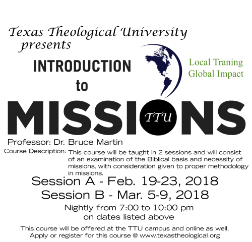 New Live Streaming Course: Introduction to Missions